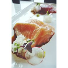 Downtown Campbell: Obsessed with the new sashimi plate  by gourmetgaude