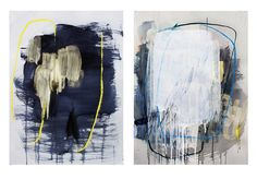 Fascinating abstract paintings from San Francisco based painter, Heather Day:  http://www.heatherdayart.com/