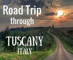 A driving map of Tuscany - through its rolling hills, quintessential cypress trees, age-old stone villas; enjoying the food & drink from village to village.