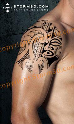 Google Image Result for http://www.storm3d.com/shoulder_tattoo_designs/digital%2520tattoo%2520maori%2520pictures/152-mask-mix-tattoo-design-black-ink.jpg