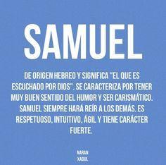 Resultado De Imagen Para Significado Del Nombre Samuel Significados De Los Nombres Nombres De Bebes Nombres