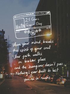 #GreenDay - 21 Guns