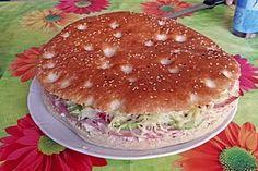 Gefülltes Fladenbrot aus dem Ofen, ein sehr schönes Rezept aus der Kategorie Vegetarisch. Bewertungen: 12. Durchschnitt: Ø 4,2.
