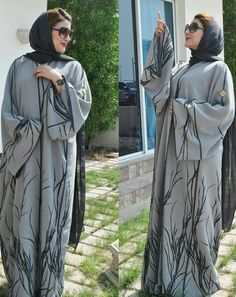 Modern Abaya, Arab Swag, Abaya Designs, Abaya Style, Abaya Fashion, Abayas, Niqab, Raincoat, Cozy