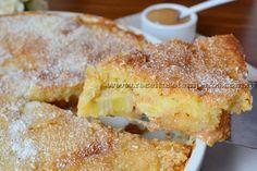 Torta de banana com doce de leite   Receitas e Temperos