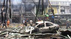 Μπαράζεκρήξεων σε τουριστικά θέρετρα στηνΤαϊλάνδη…