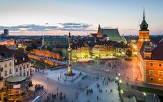 The capital city of Poland, Warsaw is located on the banks of the Vistula River and was ranked as one of the most livable cities in central Europe. The Places Youll Go, Places To See, Visit Poland, Cheap Places To Travel, Warsaw Poland, Warsaw City, Voyage Europe, Places In Europe, Destination Voyage
