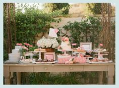 candy bar, une sweet table ou un joli buffet