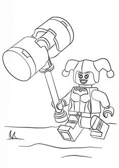 color pages for batman's villians lego | lego batman ...