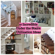 Every house which consists of two floors absolutely need stairs to reach the second floor at the house. Twisting staircase design may create narrow space under the staircase itself. Still, it doesn't mean the narrow space cannot to be utilized as the storage. To optimize the space to be an utilization under the staircase, these are incredible ideas to inspire you.