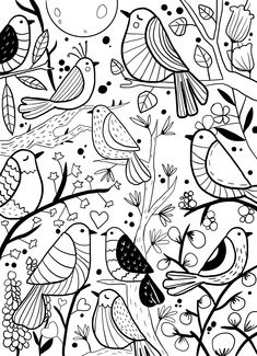 Hand Doodles, Doodle Borders, Wall Murals, Wall Art, Cute Illustration, Art Sketches, Hand Carved, Coloring Pages, Applique