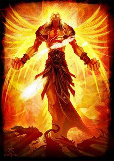 Hyperion (Greek God of Light. Titan)
