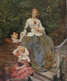 Stages of Cruelty (1857) Ford Madox Brown