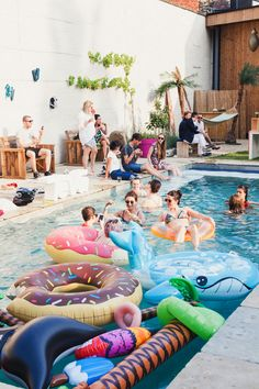 Outfit: Maxi dress at Teva pool party Pool Party Decorations, Beach Party, Summer Time, Cool Stuff, Birthday, Outdoor Decor, Inspiration, Style, Home