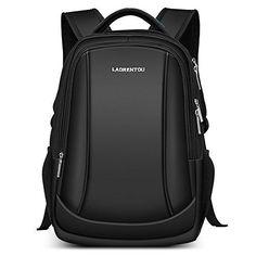 6bbf3d685d Men Laptop Backpack Women Business Travel Bag Multifunctional Student School  bag for Teenagers - BLACK -