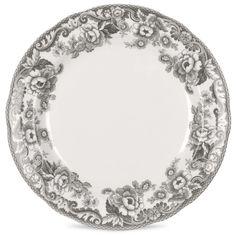Made by Spode. 749151561243 Part: The Spode Delamere Rural Dinner Plate measures Grey Dinner Plates, Dinner Plate Sets, Dinner Sets, Dinner Table, Christmas China, Salad Plates, Elegant, Dinnerware, Decorative Plates
