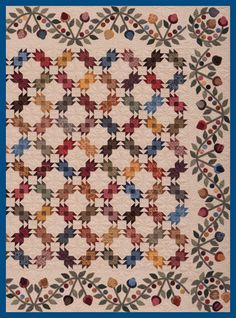 BEARS PAW QUILT..............PC