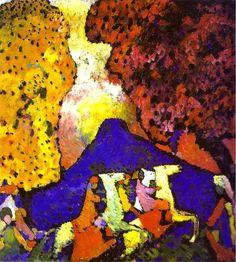 Vasilij Kandinskij   Il monte blu