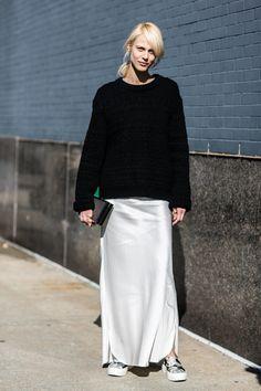 Street looks a la Fashion Week de New York