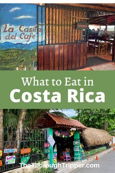 I love Costa Rican food! Even though it doesn't the attention of the world's other cuisines, it is always one of the highlights of my travels to Costa Rica. Plus I love all the open air restaurants in Costa Rica like those pictured here. Let me show you some of my favorite Costa Rican Food #CostaRica #CostaRicanFood #CostaRicaTravel #GalloPinto
