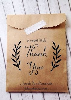 When I get married, I want everything to be rustic-themed! From the party favors to the decor!