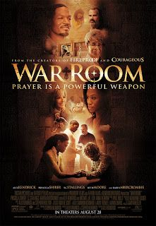 War Room Tony and Elizabeth Jordan have it all-great jobs, a beautiful daughter, and their dream house. But appearances can be deceiving. In reality, their marriage has become a war zone and their daughter is collateral damage. With guidance from Miss Clara, an older, wiser woman, Elizabeth discovers she can start fighting for her family instead of against them. As the power of prayer and Elizabeth's newly energized faith transform her life, will Tony join the fight and become the man he…