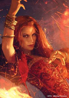 """Melisandre, a character from the A Song of Ice and Fire fantasy novel series and its television adaptation Game of Thrones, often referred to as """"The Red Woman"""". Fantasy Characters, Female Characters, Tattoo Maria, Vlad El Empalador, Art Game Of Thrones, Red Priestess, Illustration Fantasy, Fire And Ice, The Villain"""