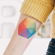 Hexagon colour wheel
