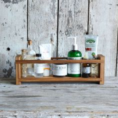 Reclaimed Apothecary Caddy #vintage #bathroom