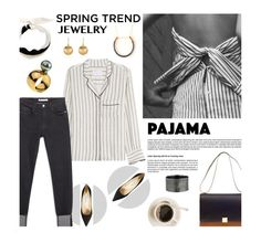 """""""Spring jewelries"""" by visibleinterest ❤ liked on Polyvore featuring Zadig & Voltaire, Valentino, Zara, Jimmy Choo and CÉLINE"""