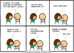 Cyanide and Happiness for by Kris Wilson 02.19.2014