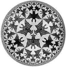 Teselación en geometria riemanniana  Escher