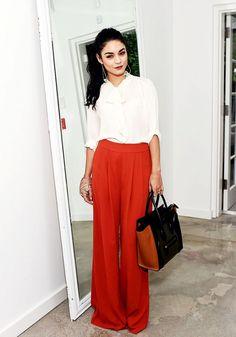 Vanessa Hudgens Inspires Our Workweek Wardrobe via @WhoWhatWear