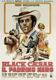 The Fred Williamson Movie Poster Exhibition Old Film Posters, Cinema Posters, Cult Movies, Action Movies, Mafia, Fred Williamson, African American Movies, Old School Movies, Black Tv Shows