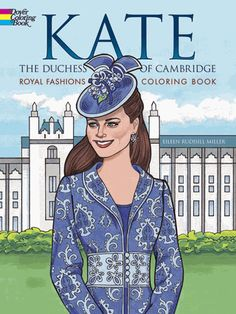 Thirty pages of beautifully rendered, ready-to-color outfits include the stunning bridal gown designed by Sarah Burton plus dresses created by Jenny Packham, Emilia Wickstead, the Alexander McQueen fashion house, and others.