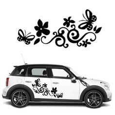 Car Vinyl Side Graphics Decals Beautiful Flower Tribal Design K1355