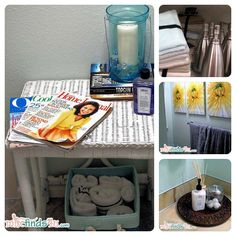Five tips for a quick and easy bathroom makeover #CGC #CleanHands #spon