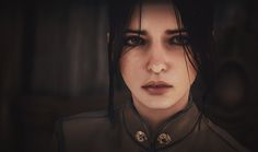 Hesindiane als Kind (Lotte Trevelyan - sliders face texture and save at Dragon Age: Inquisition Nexus - Mods and community) Dragon Age Inquisition, Female Characters, Fantasy Characters, Scrolls Game, Dragon Age Series, Dragon Age Games, Pochette Album, Skyrim, Character Inspiration
