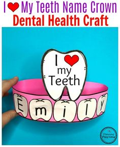 Preschool Dental Health Craft for kids. #toothcraft #dentalhealth #preschool #preschoolworksheets #preschoolcenters