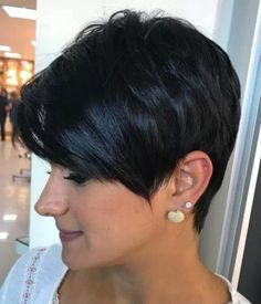 Black Choppy Pixie Hairstyle Source by Short Hair With Layers, Short Hair Cuts For Women, Choppy Layers, Short Cuts, Natural Hair Styles, Short Hair Styles, Short Layered Haircuts, Pixie Hairstyles, Layered Hairstyles