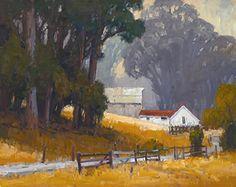 Eucalyptus Barn by Jim Wodark Oil ~ 24 x 30