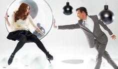 Matt & Karen 'Buzz Magazine' photoshoot 18/12/10 - matt-smith-and-karen-gillan Photo