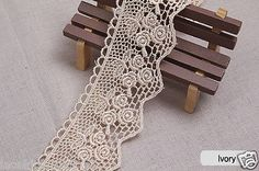 "1yds broderie #anglaise #vintage venice lace trim 2""(5cm) #yh1086 laceking2013,  View more on the LINK: 	http://www.zeppy.io/product/gb/2/331873023090/"