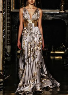 I love this Zuhair Murad gown, especially the back.  Noticed lots of people pinning the back view, so I am repinning the front here for the full effect.