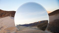 """American photographer Cody William Smith has created a very beautiful series called """"A Moment of Reflection"""" by placing a mirror on the . Mirror Photography, Nature Photography, Cody Smith, Cody Williams, Specular Reflection, Beautiful Series, Death Valley, Paul Gauguin, Land Art"""