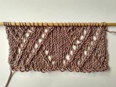 Cómo tejer cables calados   The Blog - ES