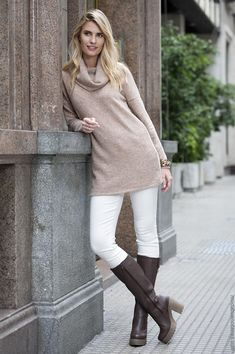 Polo Outfit, Beautiful Blouses, Casual Looks, Boho Chic, Winter Outfits, Style Inspiration, Formal, My Style, Womens Fashion