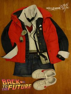 From Back to the Future: Marty McFly female Cosplay !!! By: RockerDragonfly