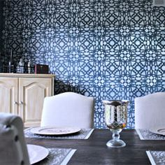 Your complete resource for stenciled decor for your home, bedroom, kitchen, living room, dining room, office, family room, lounge, outdoor space.