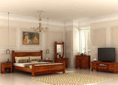 Give your master #bedroom the #royal and contemporary aesthetic appeal with Kingsley collection.